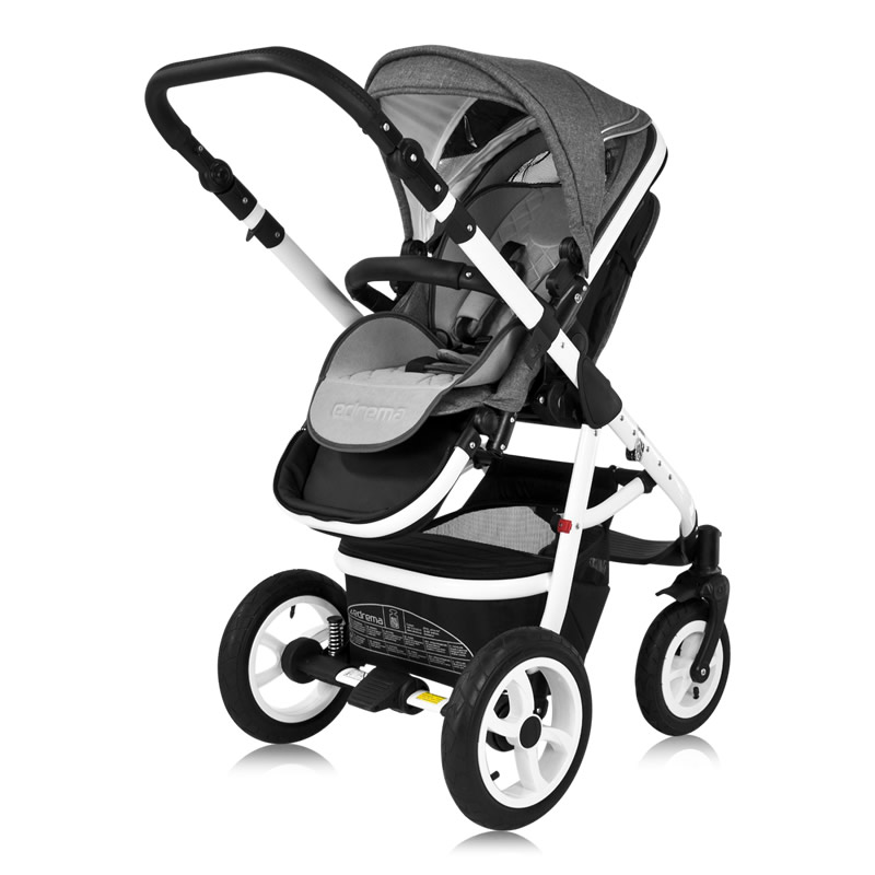breva kombi kinderwagen 3in1 babyschale autositz buggy babywagen stroller ebay. Black Bedroom Furniture Sets. Home Design Ideas