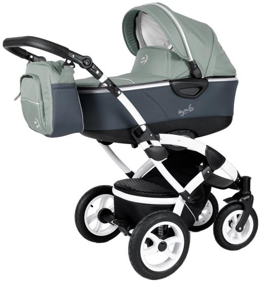 impulse kombi kinderwagen 3 in 1 babyschale autositz buggy. Black Bedroom Furniture Sets. Home Design Ideas