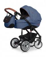 Euro-Cart Delta Kinderwagen 2 in 1 ohne Babyschale|denim