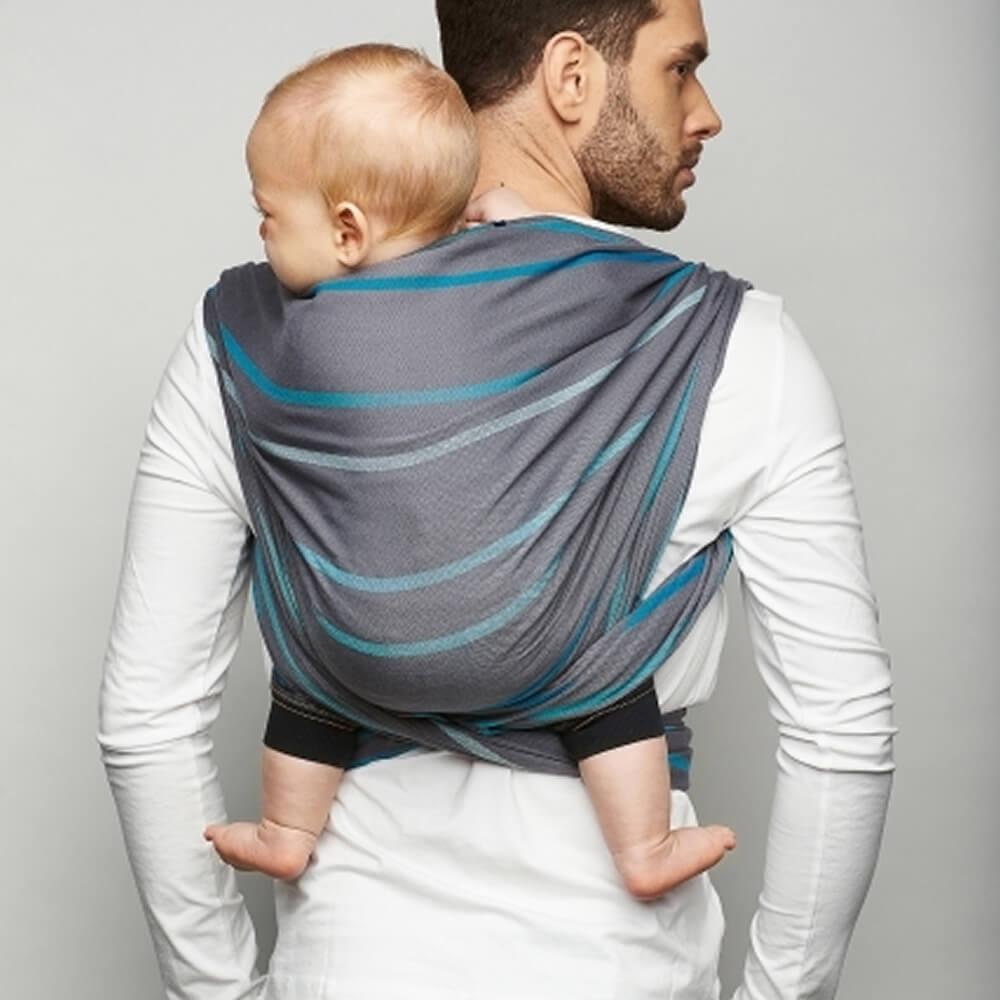 Zaffiro Baby Tragetuch sling eco sling29