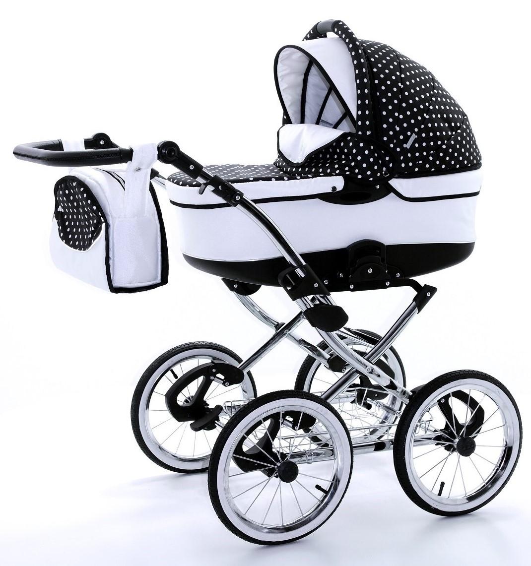 Pretty Woman 2 Kombi-Kinderwagen 3 in 1 mit Babyschale / 01