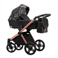 Lonex Emotion XT Print Kombi-Kinderwagen 2 in 1 ohne Babyschale|XTP 01