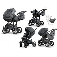 Mikado Luxor Kombi-Kinderwagen 2 in 1 ohne Babyschale|Luxor25