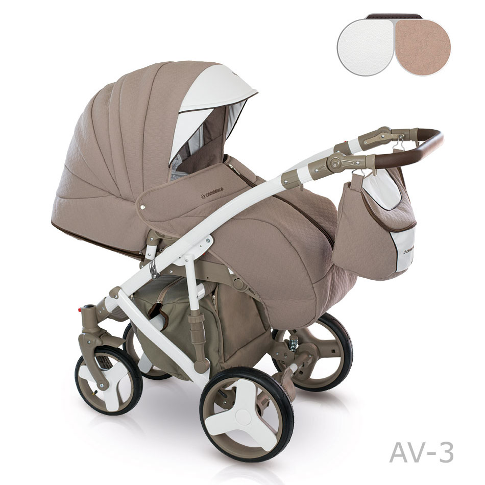 camarelo avenger kombi kinderwagen 3 in 1 mit babyschale av03 anvenger 6. Black Bedroom Furniture Sets. Home Design Ideas