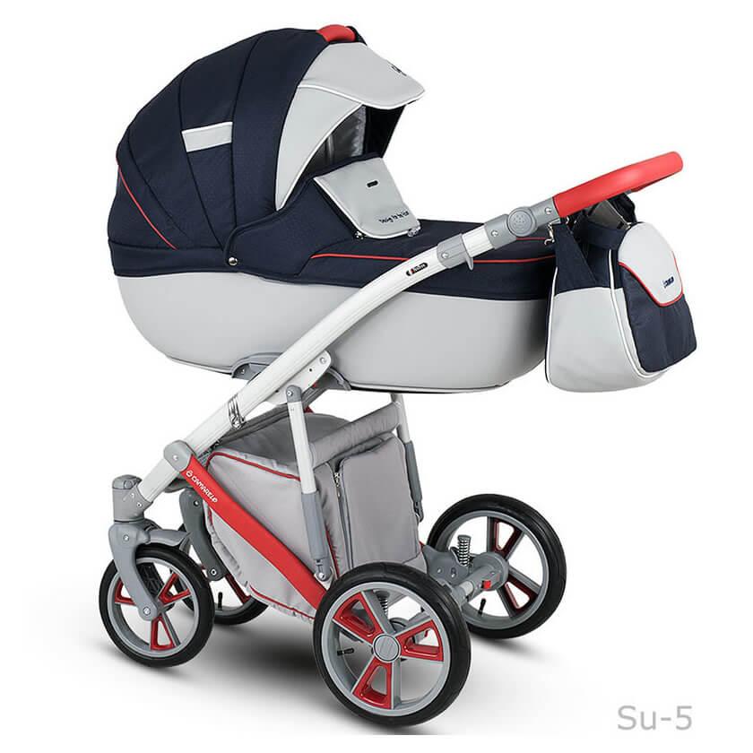 Camarelo Sudari Kombi-Kinderwagen 2 in 1 ohne Babyschale / su5