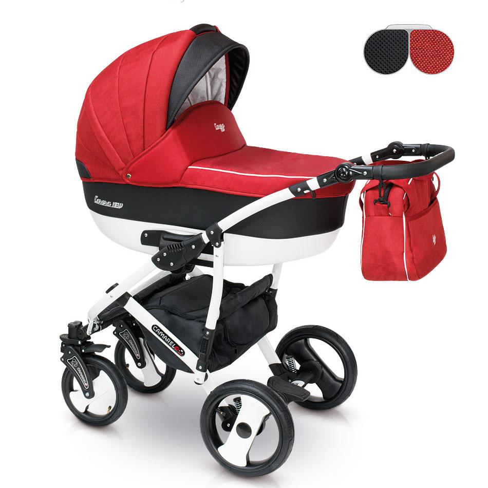 camarelo carera new kombi kinderwagen 2 in 1 ohne babyschale can01 carera n 1. Black Bedroom Furniture Sets. Home Design Ideas
