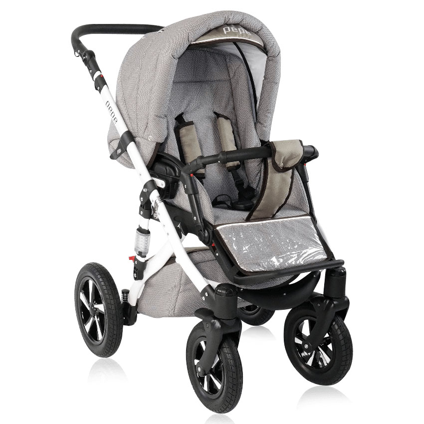 pepe kombi kinderwagen 3 in 1 mit babyschale 01 pep01 2. Black Bedroom Furniture Sets. Home Design Ideas