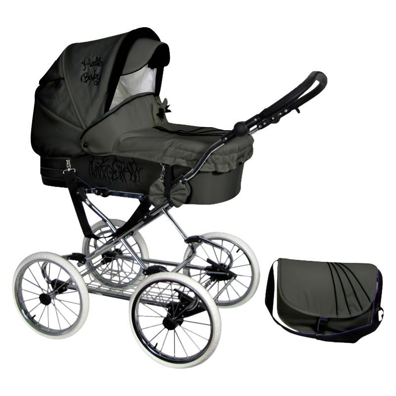 Scarlett Kombi-Kinderwagen 3 in 1 mit Babyschale / S17