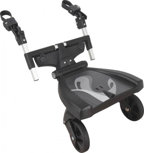 Fillikid Buggy-Board Filliboard 180° Mitfahrbrett - Schwarz Grau