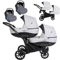 Kunert Booster Zwillingskinderwagen / Geschwisterwagen