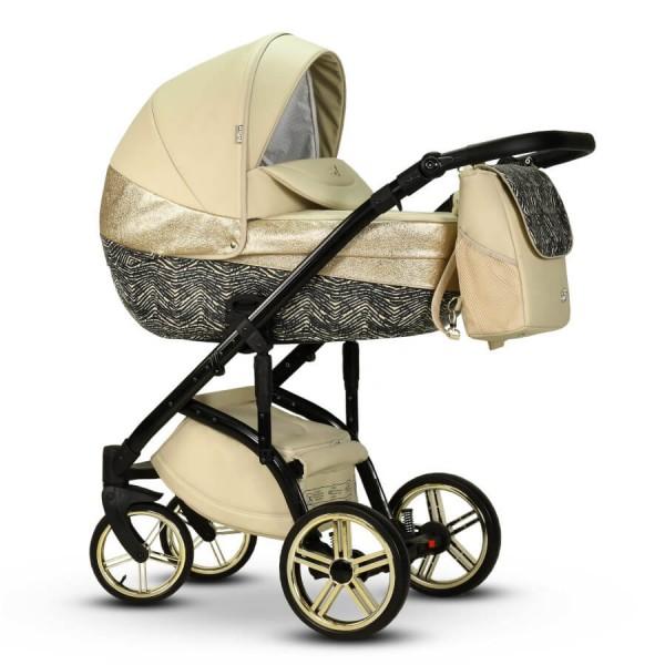 Wiejar Modo Exclusive 2 Kinderwagen Kombikinderwagen Golden Sand