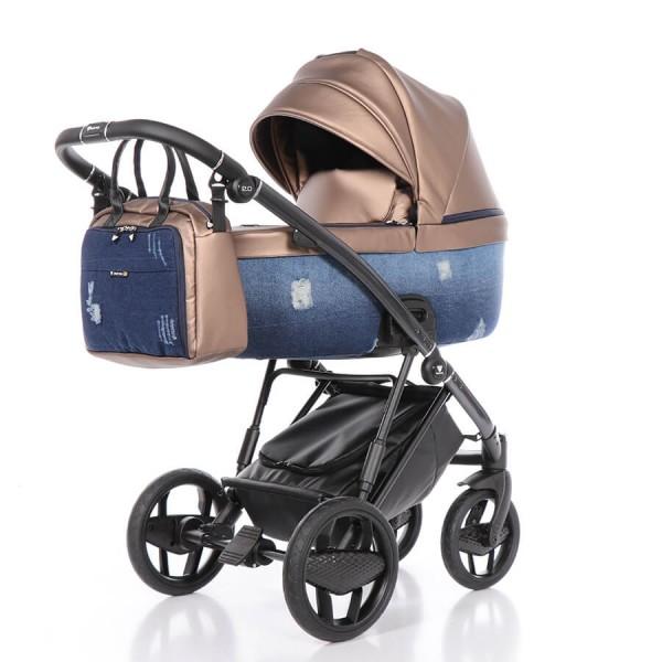 Invictus 2.0 Jeans Kombi Kinderwagen 3 in 1 Set