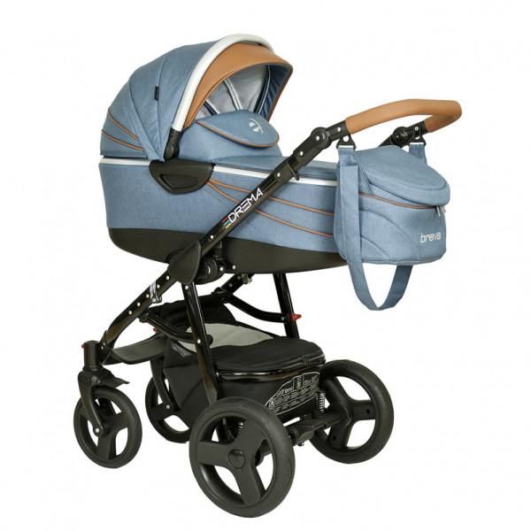 Breva Toffee Kombi-Kinderwagen