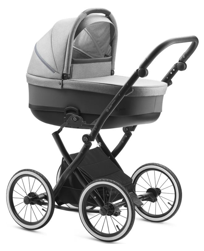 Jedo Bartatina Kombi-Kinderwagen 3 in 1 mit Babyschale / V10