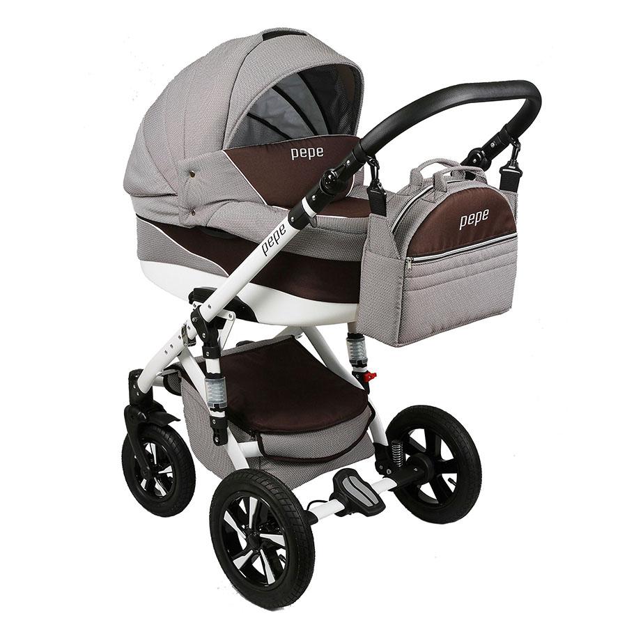 Pepe Kombi-Kinderwagen 3 in 1 mit Babyschale / 04