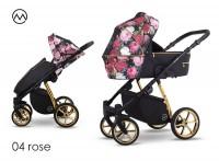 Lonex Pax Rose Kombi-Kinderwagen Rose 04
