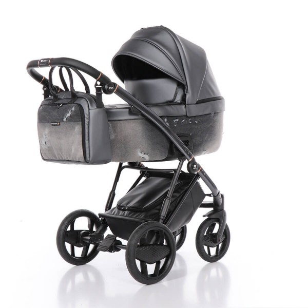 Invictus 2.0 Jeans Kombi Kinderwagen 3 in 1 Set