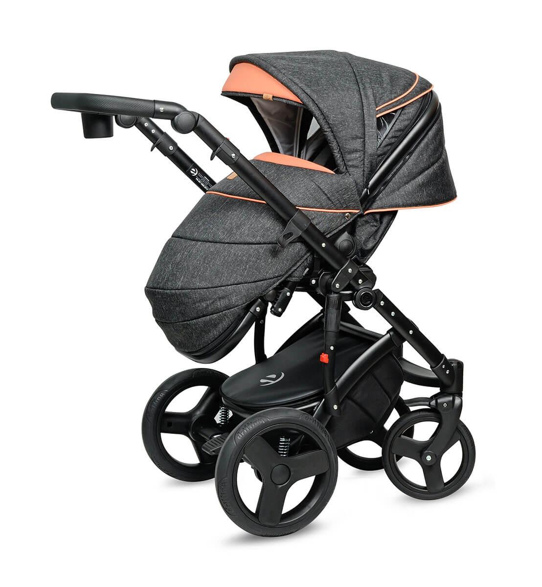 Breva Quanto Kombi-Kinderwagen 3 in 1 mit Babyschale / QU6