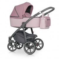 Riko Marla Kombi-Kinderwagen 2 in 1 ohne Babyschale|Scarlet