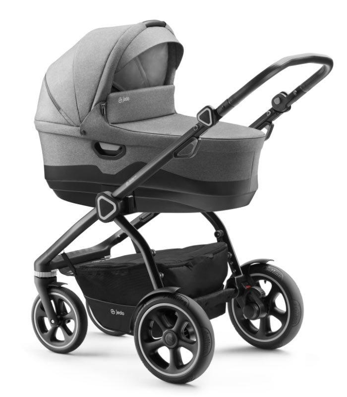 Jedo Trim M-line Kombi-Kinderwagen 3 in 1 mit Babyschale / M5