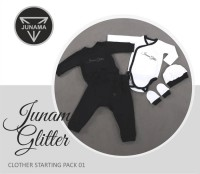 Junama Glitter Babykleidung Set 01