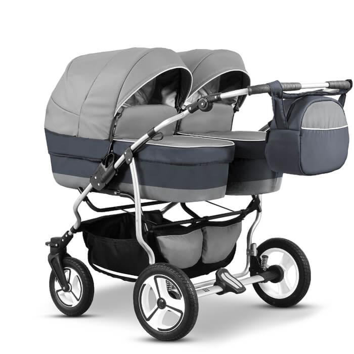 Mikado Duet Twin Zwillingskinderwagen Geschwisterwagen bei babywelt-sulingen.de