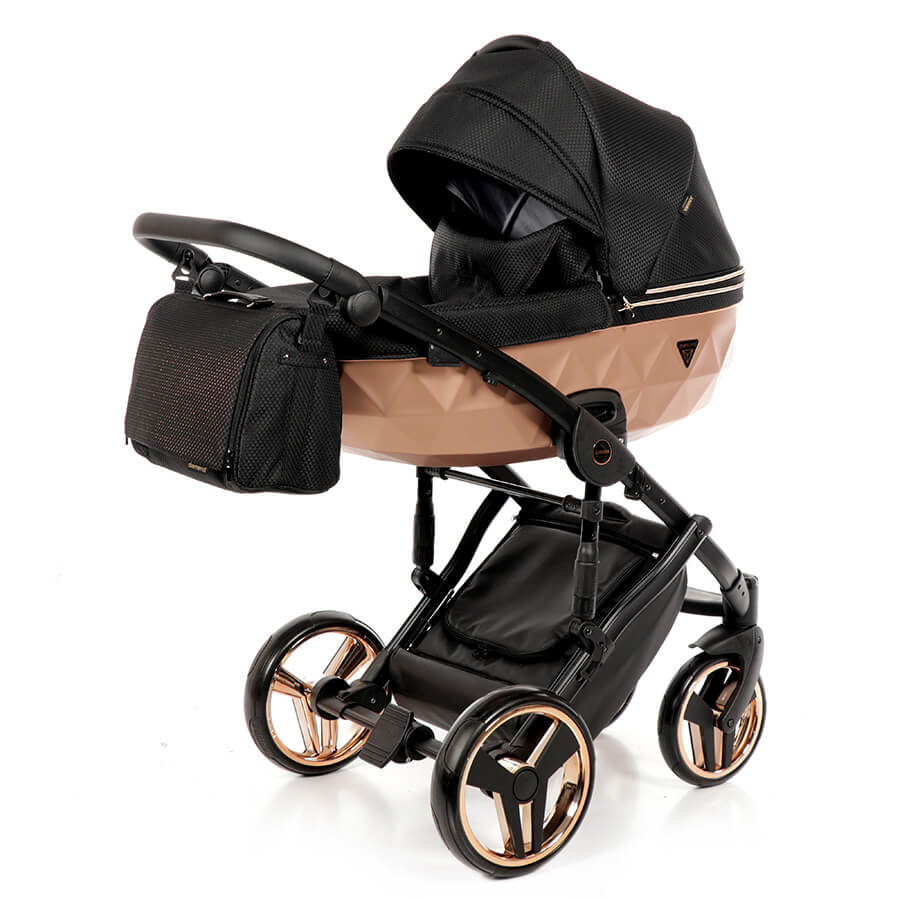 Junama Mirror Satin Kombi-Kinderwagen Set