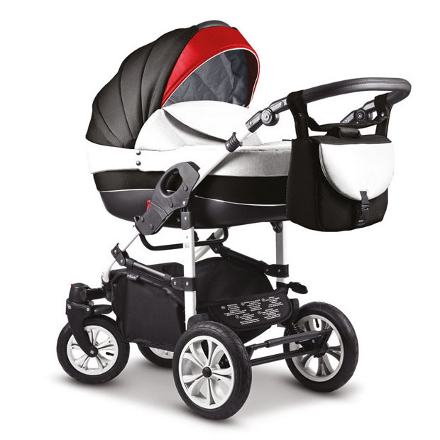 Mikado City Kombi-Kinderwagen 3 in 1 mit Babyschale / 10