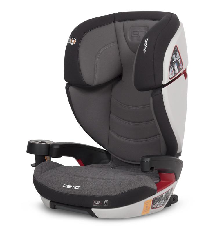 Easygo Camo Kindersitz 15-36 kg Gr. 2/3 Titanium