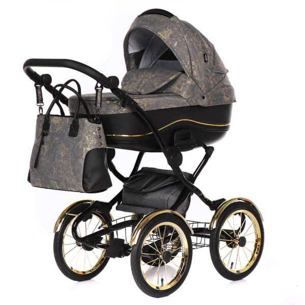 Tako Baby Bella Donna Retro Kombi-Kinderwagen