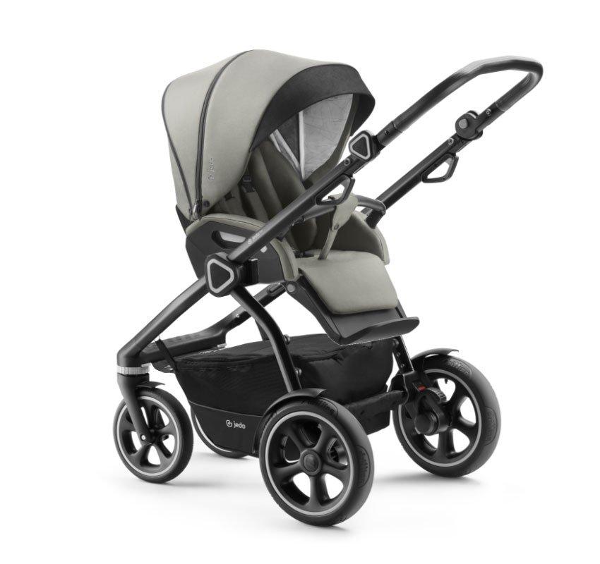 Jedo Trim M-line Kombi-Kinderwagen 3 in 1 mit Babyschale /  M4