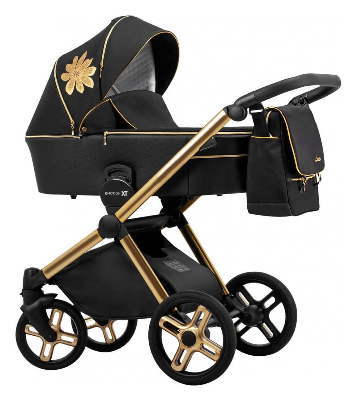 Lonex Emotion XT Flower Kombi-Kinderwagen 2 in 1 ohne Babyschale / XTF 02