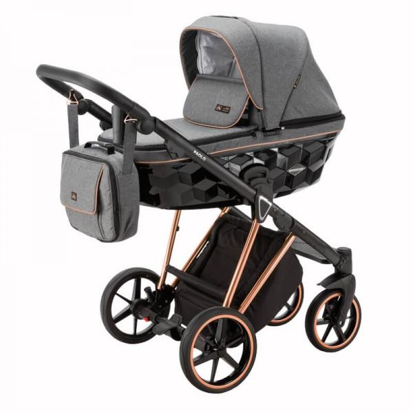 Adamex Paolo Special Kinderwagen Set 3 in 1 tk574