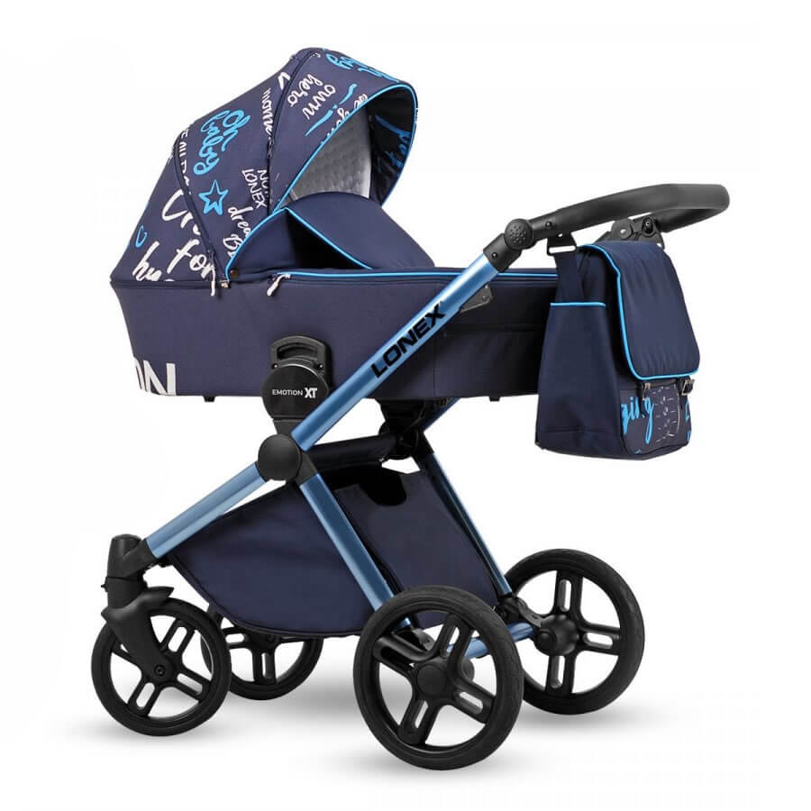 Lonex Emotion XT Print Kombi-Kinderwagen 2 in 1 ohne Babyschale / XTP 01