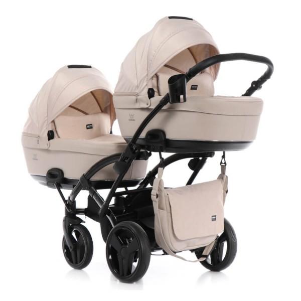 Tako Baby Corona Lite Duo Slim Geschwisterwagen / Zwillingskinderwagen