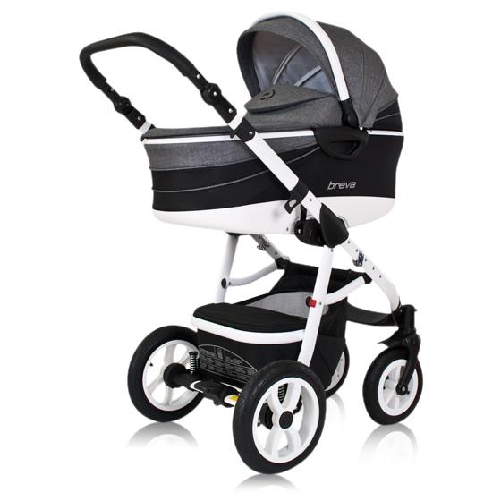 Breva Kombi-Kinderwagen 3 in 1 mit Babyschale / Breva 1