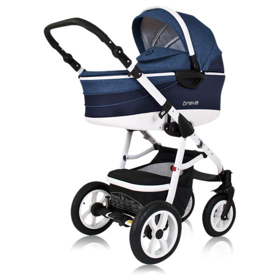 Breva Kombi-Kinderwagen 3 in 1 mit Babyschale / Breva 3