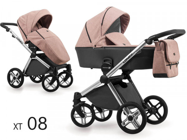 Lonex Emotion XT Kombi-Kinderwagen