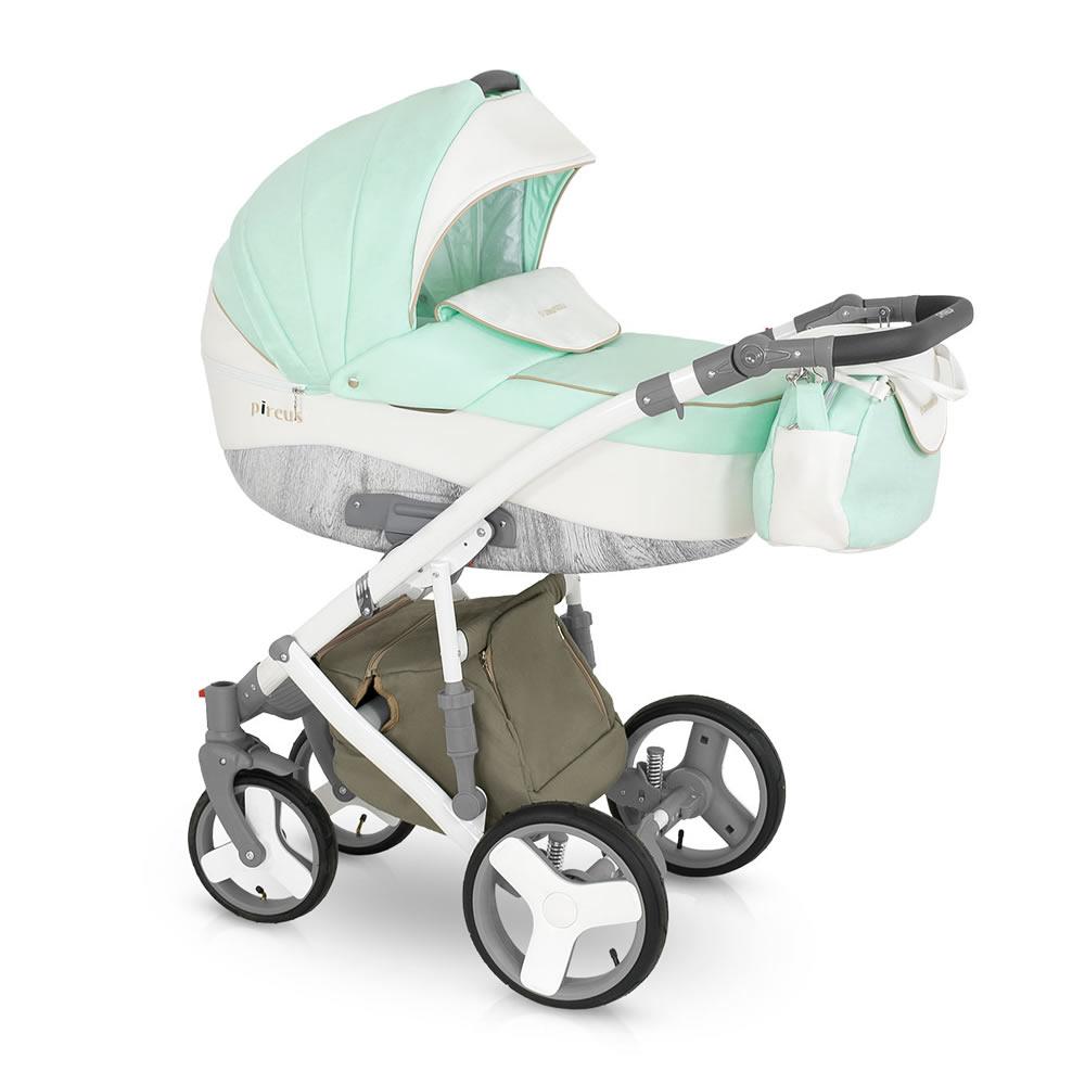 Camarelo Pireus Kombi-Kinderwagen 3 in 1 mit Babyschale / PR3