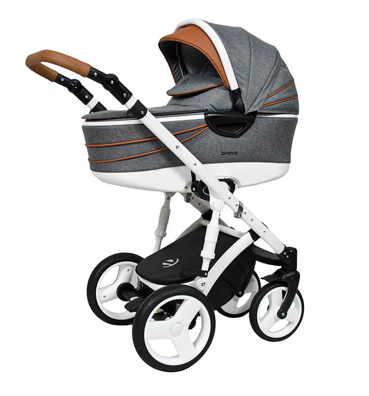 Breva Plus Kombi-Kinderwagen 3 in 1 mit Babyschale / 03