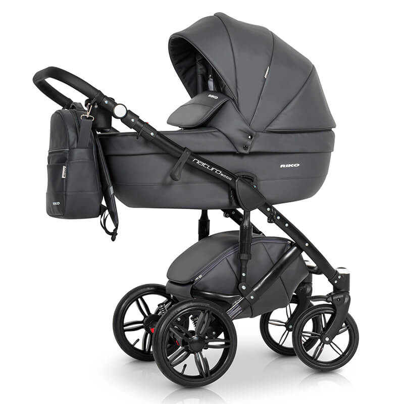 riko naturo ecco kombi kinderwagen 3 in 1 mit babyschale anthracite rikonaturoecco 2. Black Bedroom Furniture Sets. Home Design Ideas