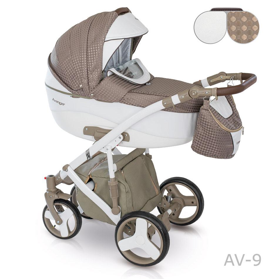 Camarelo Avenger Kombi-Kinderwagen 2 in 1 ohne Babyschale / AV09