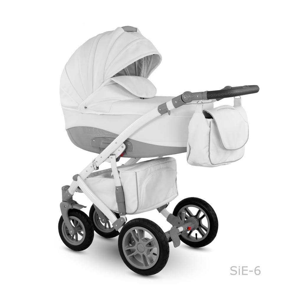 Sirion Eco Kombi-Kinderwagen 2 in 1 ohne Babyschale / SIE06