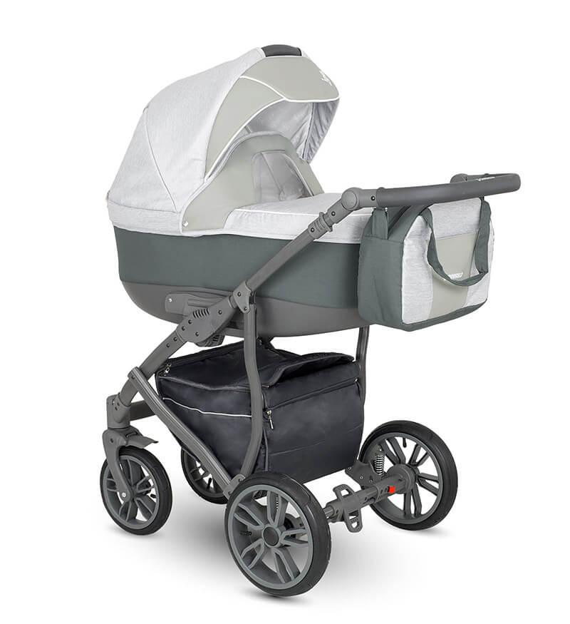 Camarelo Lupus Kombi Kinderwagen 3 in 1 mit Babyschale / LU4
