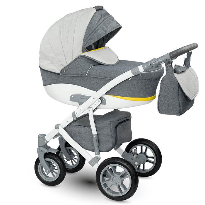 Sirino Kombi-Kinderwagen 3 in 1 mit Babyschale / si 3