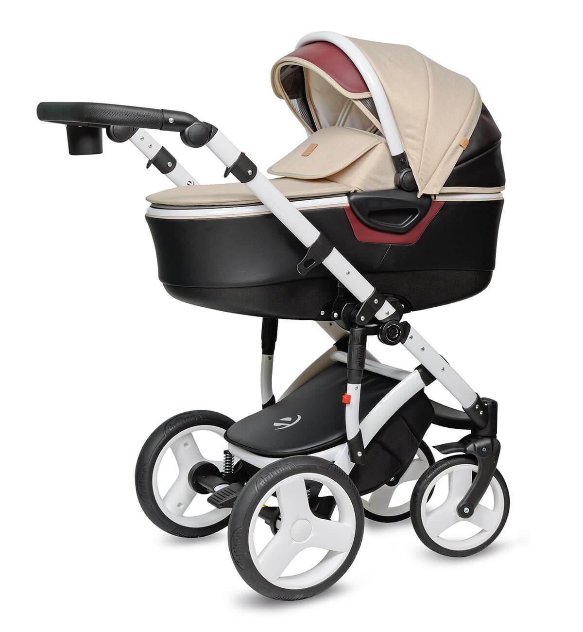 Breva Quanto Kombi-Kinderwagen 2 in 1 ohne Babyschale / QU3