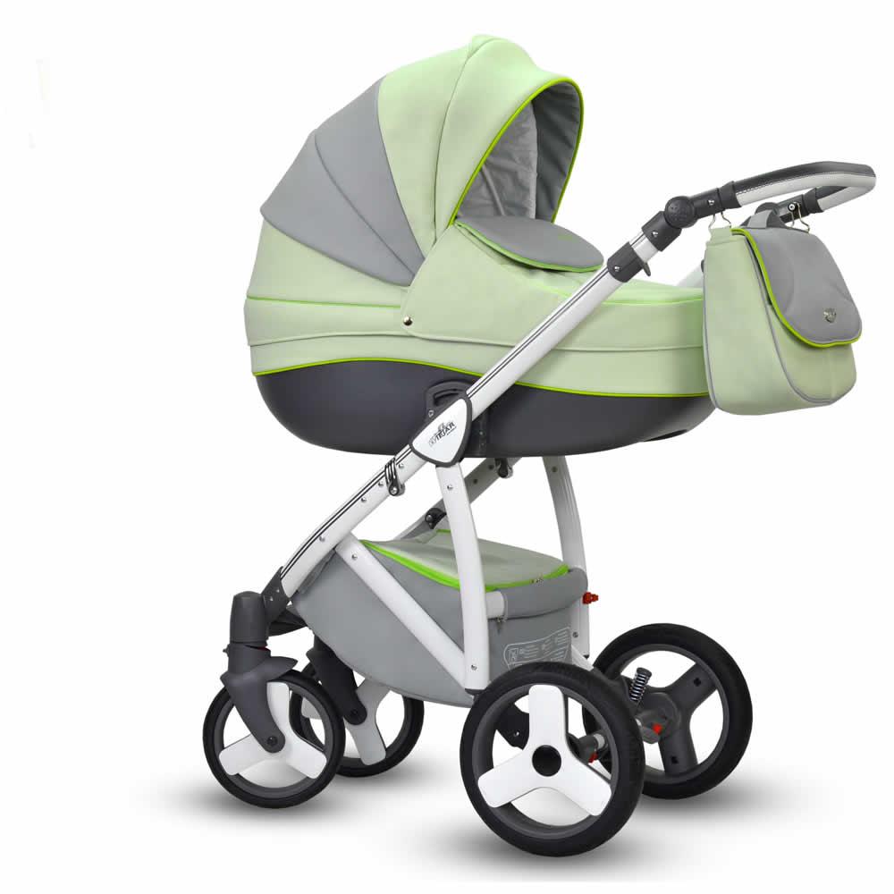 Wiejar Angelo Kombi-Kinderwagen 2 in 1 ohne Babyschale / Angelo04