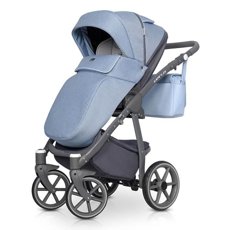 Riko Marla Kombi-Kinderwagen 3 in 1 mit Babyschale / Niagara