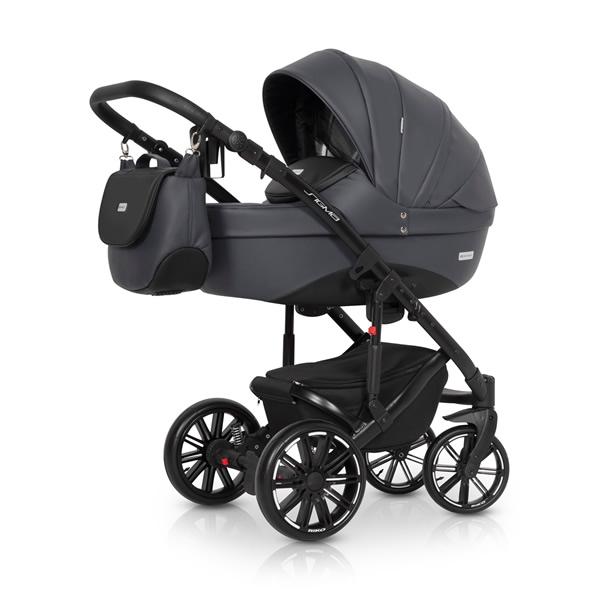 Riko Sigma Kombi-Kinderwagen 2 in 1 ohne Babyschale / anthracite