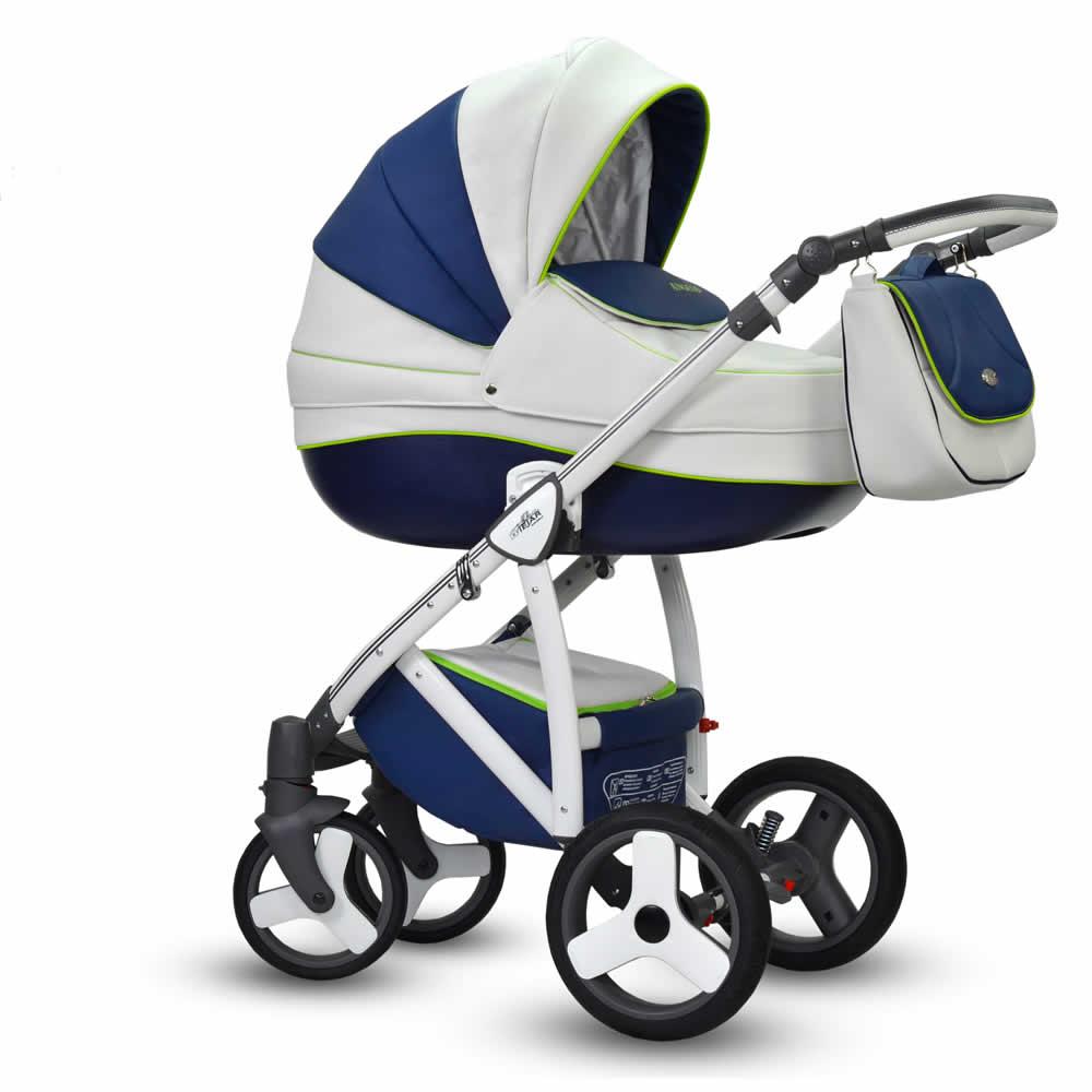 Wiejar Angelo Kombi-Kinderwagen 2 in 1 ohne Babyschale / Angelo02
